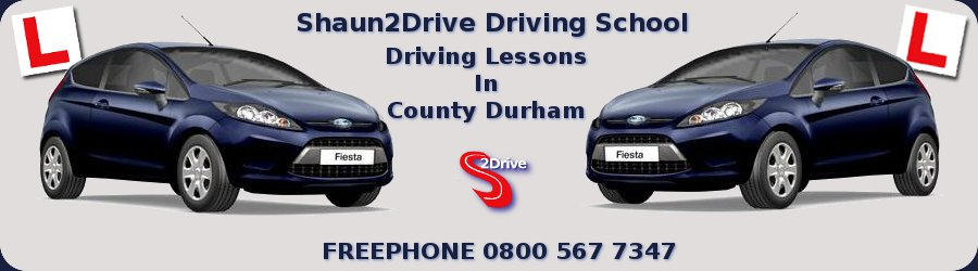 Shaun2Drive Driving School Driving Lessons in Stanley County Durham Ford Fiesta Cars